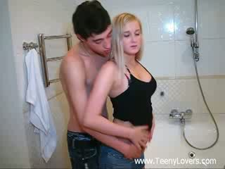 Jatty lovers in the bath