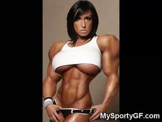 Heiß muscle girlfriends!