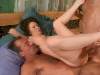 Double Fucked Brunette Rayveness Enjoying A Dp Pounding And Facial