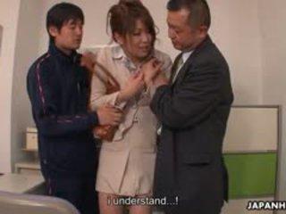 Tini fasz loving yuuno hoshi van tapogatás által two teachers