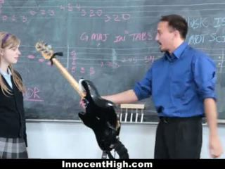 Innocenthigh- e lezetshme flokëkuqe fucks të saj mësues <span class=duration>- 12 min</span>