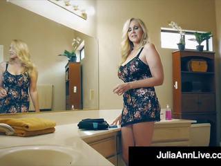 The Hottest MILF in Porn Julia Ann Bangs a Total Porn