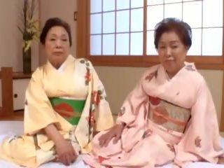 japonés, bbw, abuelita