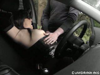 Nóng vợ gangbanged tại highway còn lại khu vực