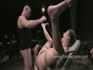 Sindee gets fucked in front of strangers