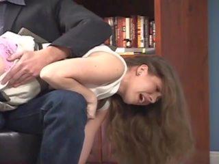 nylon, nylons, spanking
