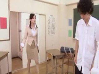 日本の, 教師, 掩撃
