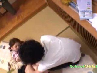 diák, fiatal, japán