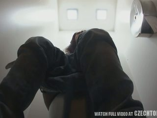 pissing, czech, toilet