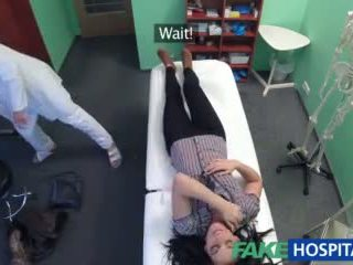 Fakehospital het tatuering patienten cured med hård kuk behandling video-