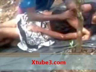 Indian colegiu fata getting la dracu în public pa