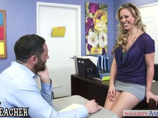 นมโต, มีอารมณ์ คุณครู cherie deville seduces เธอ นักเรียน - ดื้อ america