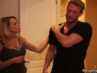 Blonde Milf Gets Her Sons Companion Gr...