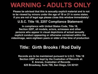 Girth Brooks And Rod Daily