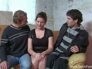 Random nederlands trio in holland, gratis porno ea