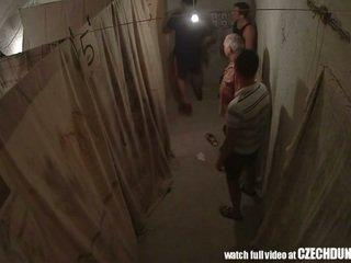 Shocking shots van eastern europees underground brothel