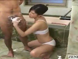 Японська мама gets кінчання на обличчя