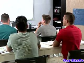 קטעי גמירות loving מורה dominated ב כיתה