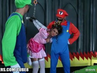 big-tits, parody, costume