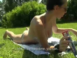 Eurobabe nikol vāvere fucked augšup par laiva