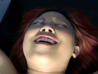 Porner Premium Jon R: Asian redhead slave gets hooked up from mistress
