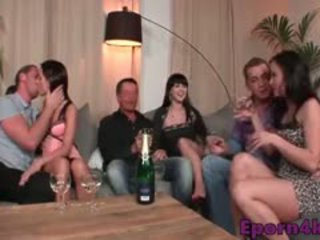 Hd Swingers Orgy With Horny Teen