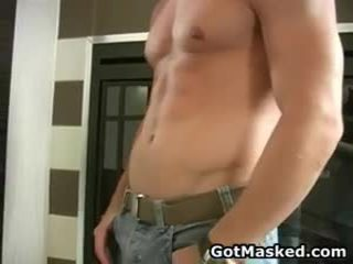 Awesome Homo Dude Stripping And Masturbating 14 By Gotmasked
