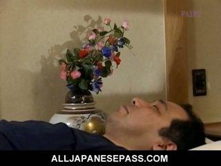 japonés, oriental, maduro