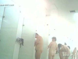 adolescentes, voyeur, banho