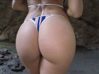 Aletta Ocean got sucked and fucked in a cave