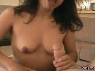 Grūti core brunete kuce a netīrs dzimumloceklis parazīts