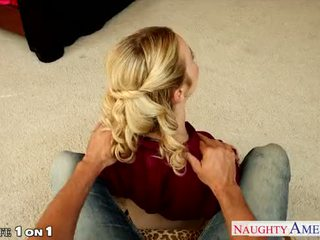 Sexy housewife Karla Kush fucking in POV