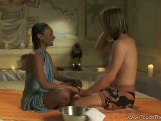 Erótico sexual prazer massagem