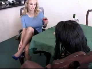 seksa rotaļlietas, lesbietes, melns un ebony