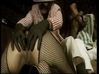 英国の ふしだらな女 sahara knite で a 変態の ffmm フォーサム