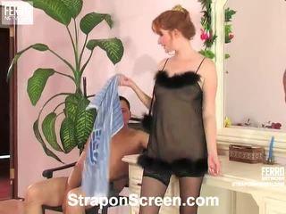 حزام على اساس, هيمنة الإناث, femdom