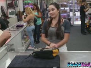 brunette, big boobs, public