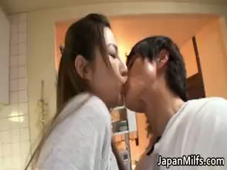 japonec, zralý, milf
