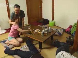 giapponese, leccare, scambio