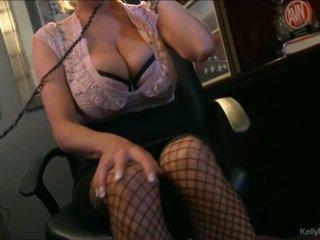 นมโต kelly madison has ร้อน โทรศัพท์ เพศ ใน เธอ ออฟฟิศ