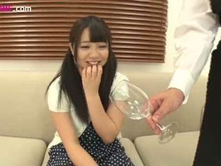 私 was 飲酒 pee アマチュア 娘! two (9)