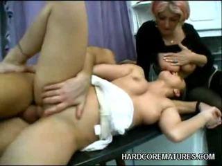 hardcore sex, milf sex, creampie