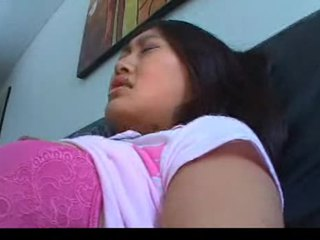 Asian girl gets screwed