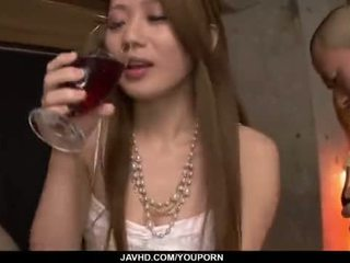 Kazumi nanase feels 几个 men 他妈的 她的 cherry