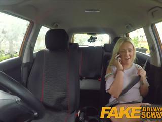 Fake driving school- seksueel discount voor schots babe