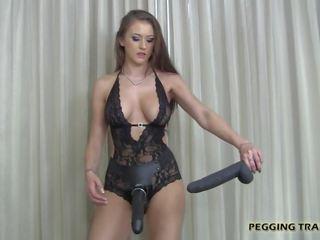sex-spielzeug, schwer, domina