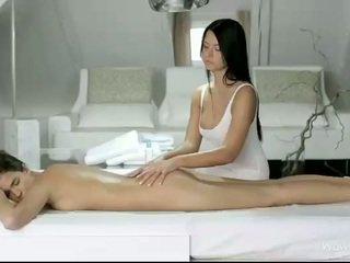 Silvie y addison masaje cada coños