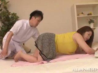 Chubby Asian Babe's Big Tits Natsuko Kayama