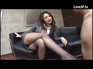 brunett, japansk, mager