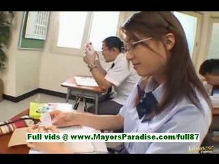 giapponese, aula, asiatico
